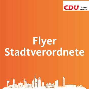 Unser Flyer für die Wahl zur Stadtverordnetenversammlung